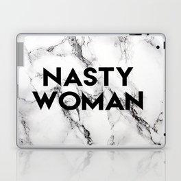 Nasty Woman (marble) Laptop & iPad Skin
