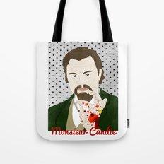 Monsieur Candie from Django Unchained Tote Bag