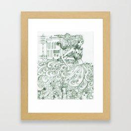alter the ending Framed Art Print