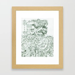 alter the ending Framed Art Print