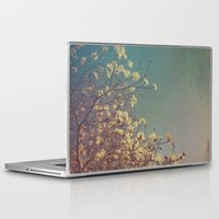 woodstock Laptop & iPad Skins featuring Head in the Clouds by Olivia Joy StClaire