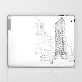 Flat Iron Building Laptop & iPad Skin