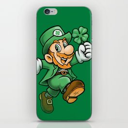 Lucky Mario Leprechaun iPhone Skin
