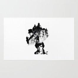 Sherlock's Mind Palace Rug