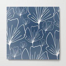 THE ALLISON - BLUE Metal Print