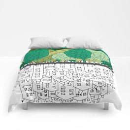 SCONFINAMENTI-CITY AND NATURE Comforters