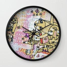 Progress is a Labyrinth Wall Clock