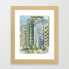 Salesforce Park Framed Art Print