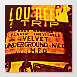Velvet Underground Canvas Print