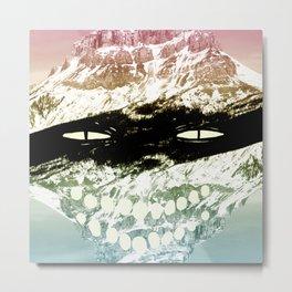 Bandit Mountain Metal Print