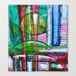 """Coral Fish"" by Simon Brushfield Canvas Print"
