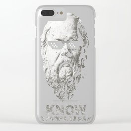 Know Nothing Clear iPhone Case