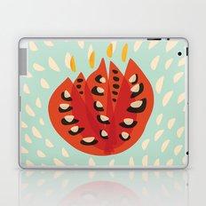 Red Abstract Tulip Laptop & iPad Skin