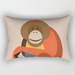 Orang Utan Rectangular Pillow