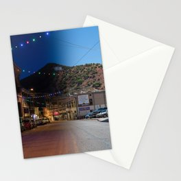 bisbee night and day Stationery Cards