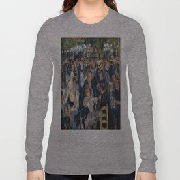 Pierre-August Renoir's Bal du moulin de la Galette Long Sleeve T-shirt