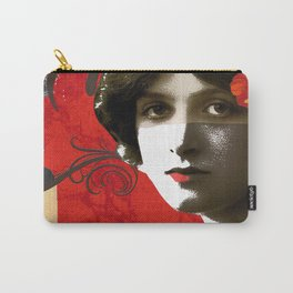Woman in trouble Carry-All Pouch