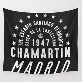 Madrid Football Ground Wall Tapestry