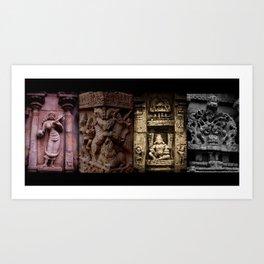 Ranganathaswamy temple Art Print