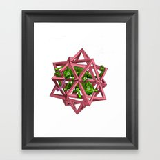 color me m.c. cubed! Framed Art Print
