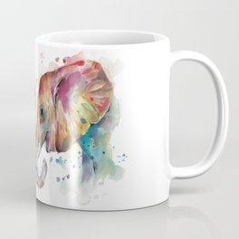 Sunset Elephants Coffee Mug