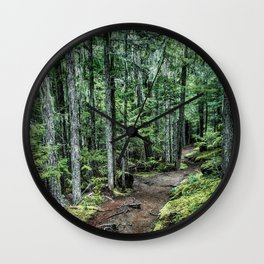 Nature Landscape Forest Trail Wall Clock