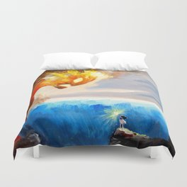 Know Who You Are Duvet Cover
