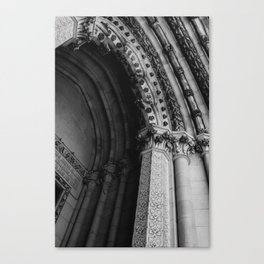 Cathedral Church of St. John the Divine II Canvas Print