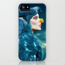 Daurian jackdaw iPhone Case