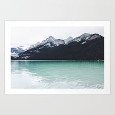 Lake Louise Reflections  Art Print