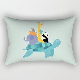 Travel Together Rectangular Pillow