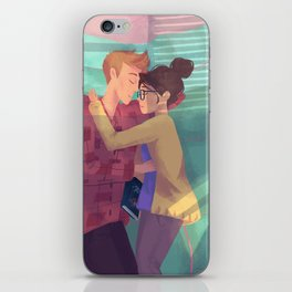 Cath & Levi iPhone Skin
