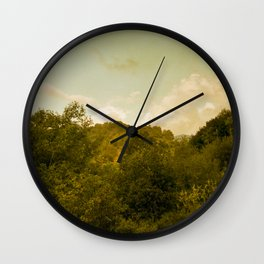 If nature could paint Wall Clock