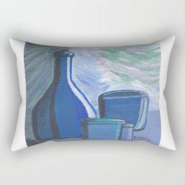 Blue Rhapsody Shadow World Rectangular Pillow