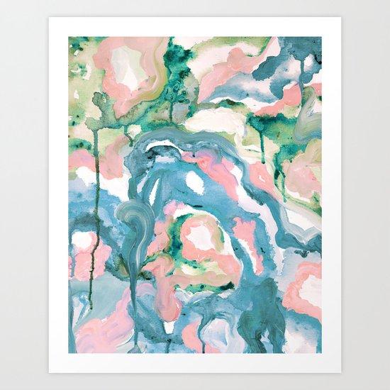Last Summer Art Print