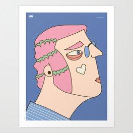Portrait V Art Print
