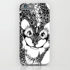 Black Cheetah iPhone 6s Slim Case