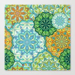 Lovely mandala Canvas Print