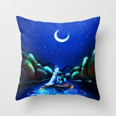 Starry Night Aladdin Throw Pillow