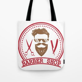 Barber shop Tote Bag