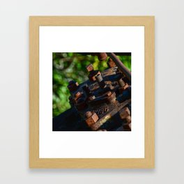 Rust - II Framed Art Print