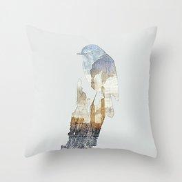 Industrial Tweet Throw Pillow