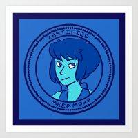 Certified Meep Morp Art Print
