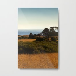Lighthouse From Afar Metal Print
