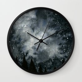 Midnight Sky Wall Clock