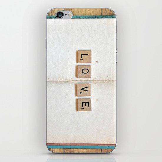 Book Love iPhone & iPod Skin