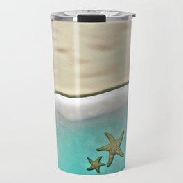 SANDY BEACH & STARFISH Travel Mug