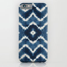 Shibori, tie dye, chevron print iPhone 6s Slim Case