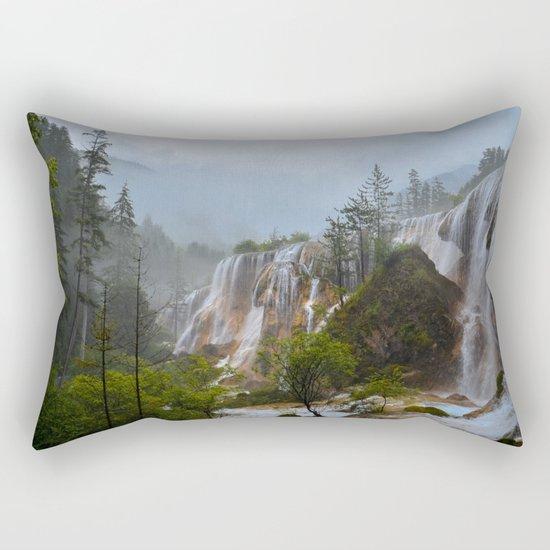 waterfall #society6 Rectangular Pillow