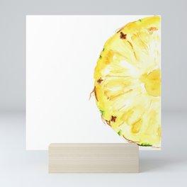 Tutti Frutti. Pineapple Mini Art Print